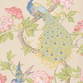 Little Greene Pavona Hazel Wallpaper - Product code: 0245PAHAZEL