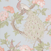 Little Greene Pavona Pearl Wallpaper - Product code: 0245PAPEARL