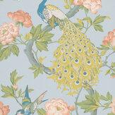 Little Greene Pavona Skye Wallpaper - Product code: 0245PASKYEZ