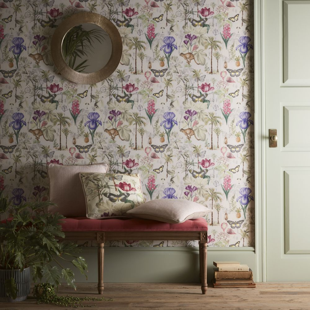 Botany Wallpaper - Summer - by Clarke & Clarke