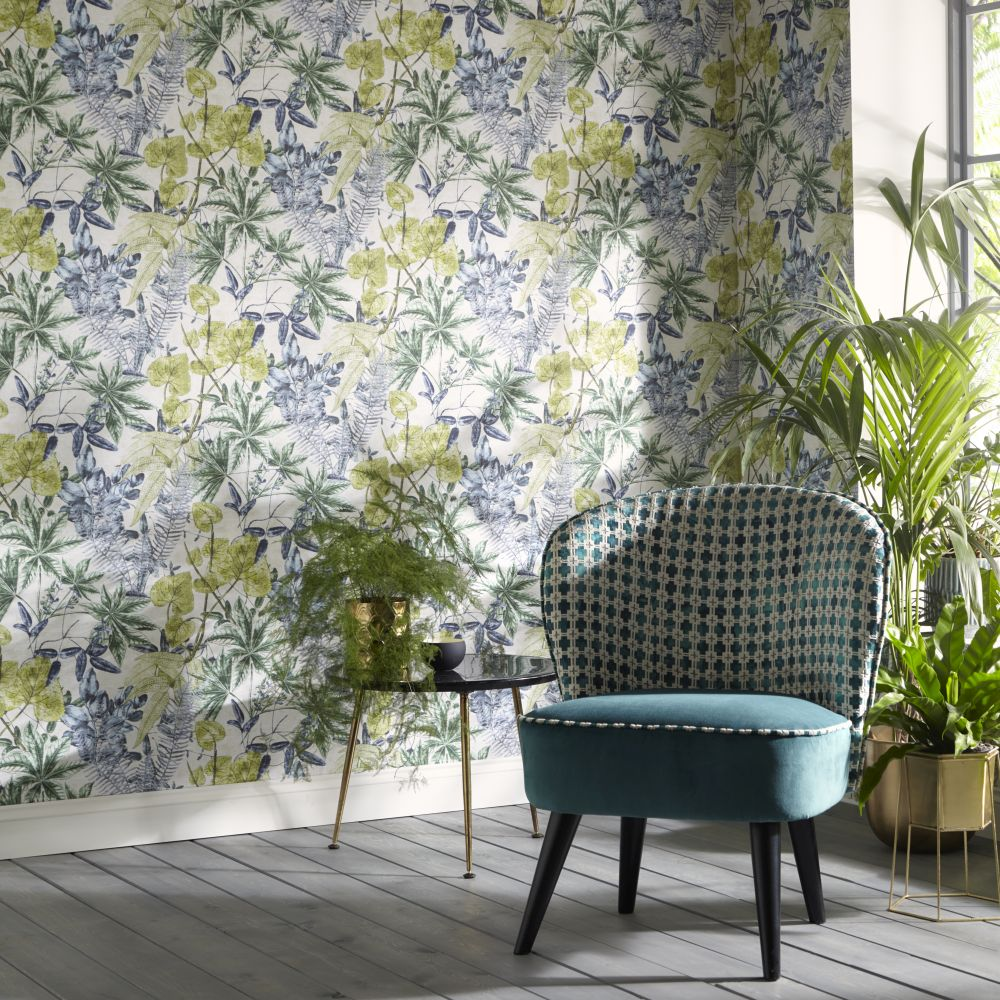 Clarke & Clarke Madagascar Forest Wallpaper - Product code: W0124/01