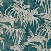 Clarke & Clarke Tropicale Kingfisher Wallpaper - Product code: W0128/01