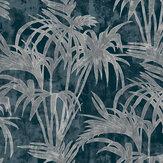 Clarke & Clarke Tropicale Midnight Wallpaper - Product code: W0128/02