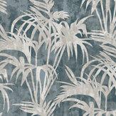 Clarke & Clarke Tropicale Slate Wallpaper - Product code: W0128/04
