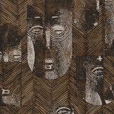 Khrôma by Masureel Mask Bamboo Wallpaper - Product code: TRI305