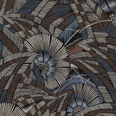 Khrôma by Masureel Bali Slate Wallpaper - Product code: TRI401