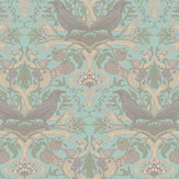 Sand & Sushi Crows Nest China Blue Wallpaper - Product code: CNCBLUE