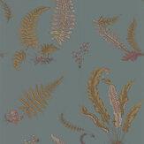 G P & J Baker Ferns Teal Wallpaper - Product code: BW45044/12