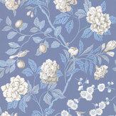 G P & J Baker Emperors Garden Blue Wallpaper - Product code: BW45000/9