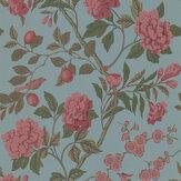 G P & J Baker Emperors Garden Teal Wallpaper - Product code: BW45000/12