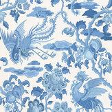 G P & J Baker Chifu Indigo Wallpaper - Product code: BW45087/2