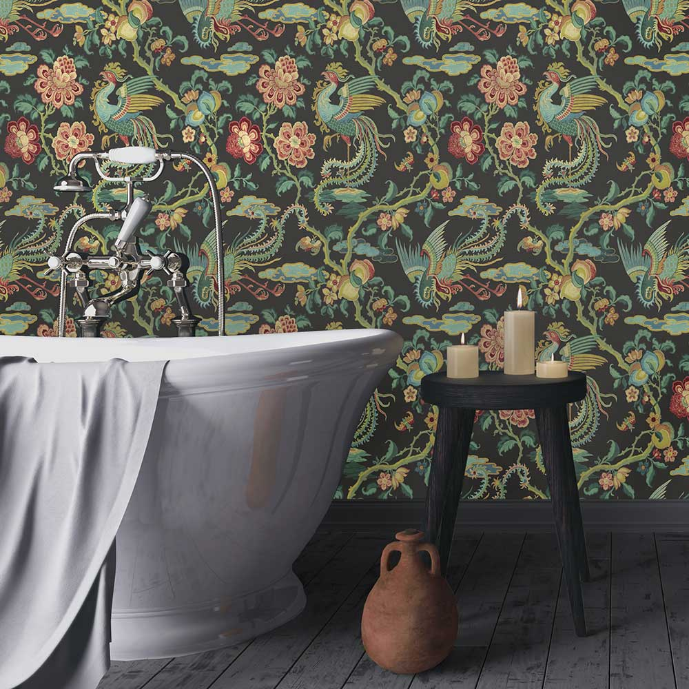 G P & J Baker Chifu Vintage Wallpaper - Product code: BW45087/5