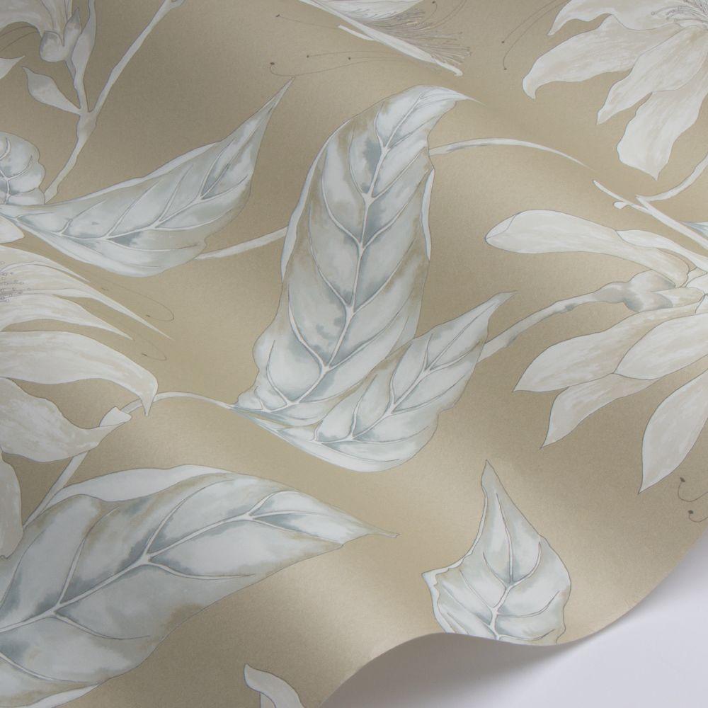 Ananda Wallpaper - Gold - by Harlequin
