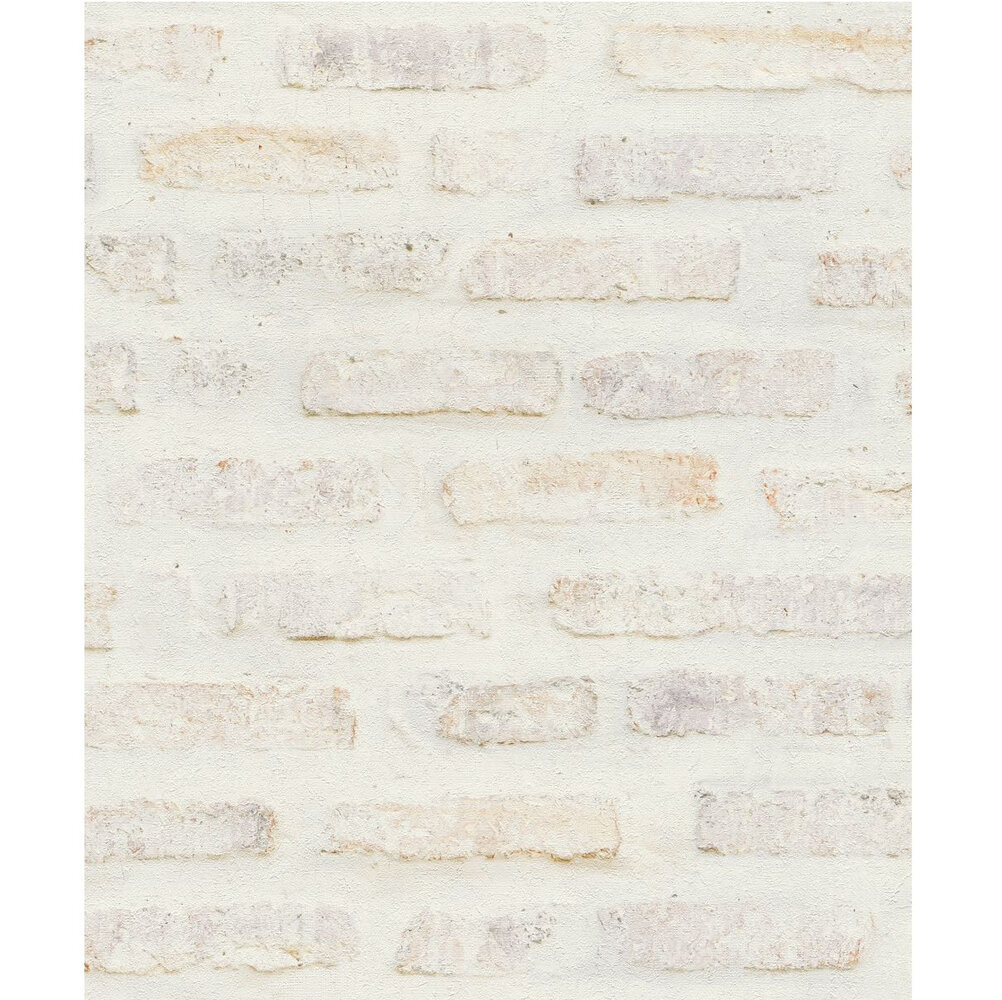 Brick Wallpaper - Beige - by New Walls