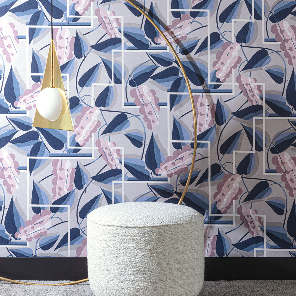Khrôma by Masureel Henry Woodrose Wallpaper - Product code: FOL303