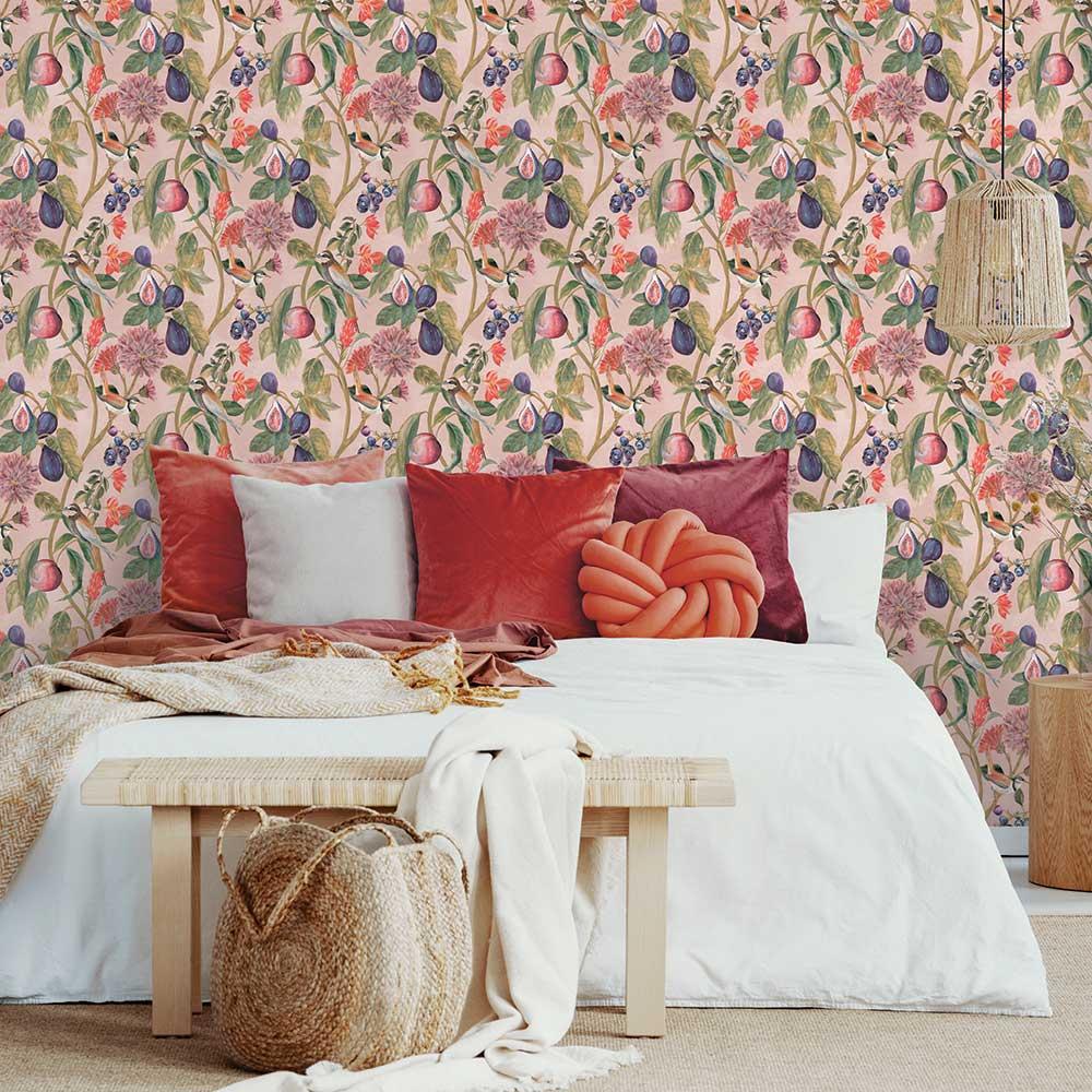 Albany Aruba Pink Wallpaper - Product code: 91083