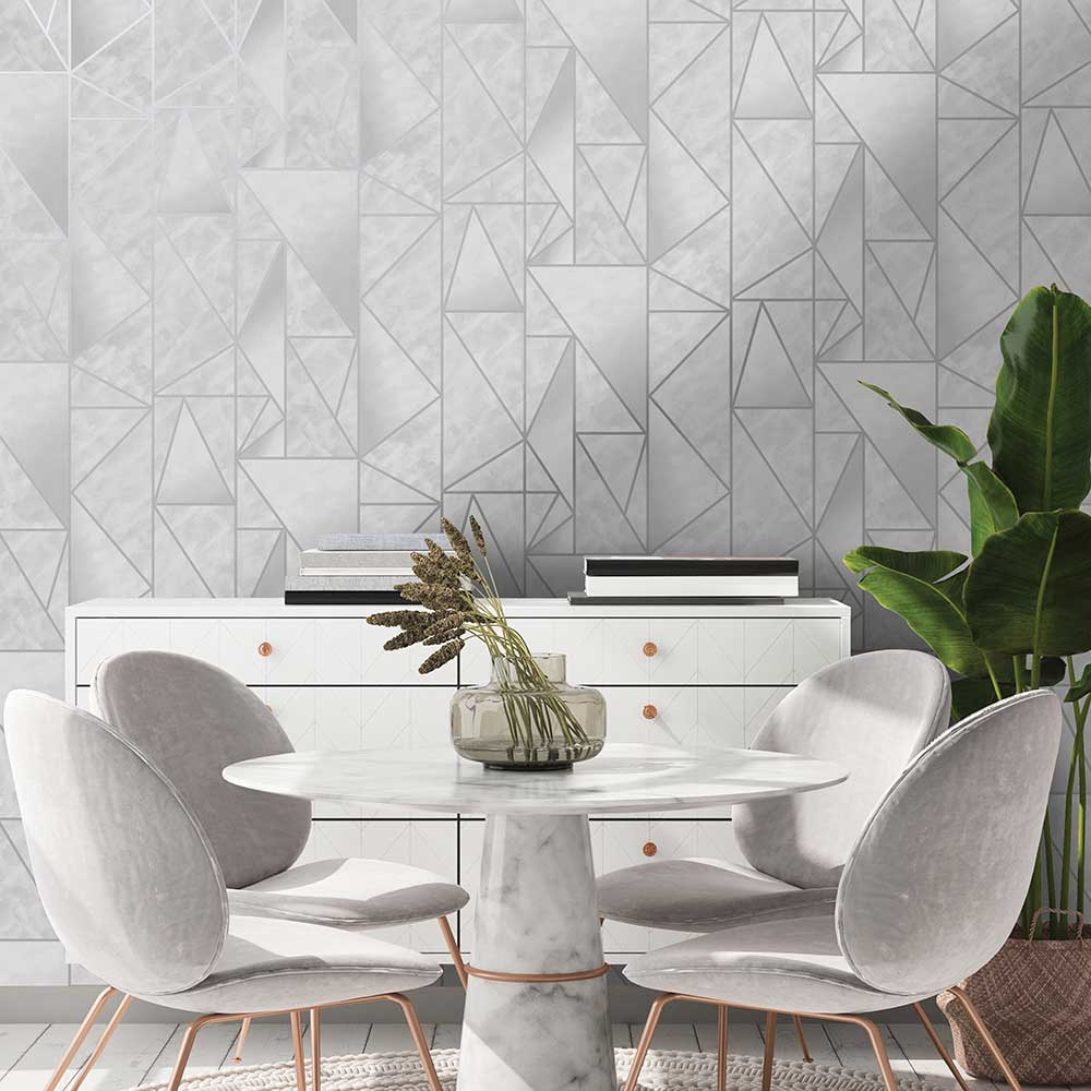Albany Charon Grey Wallpaper - Product code: 91140