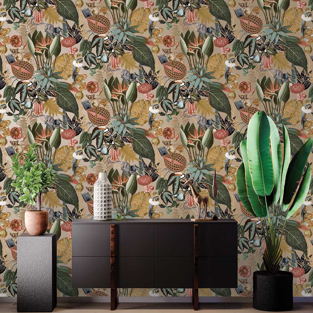 Albany Reverie Gold Wallpaper - Product code: 91171