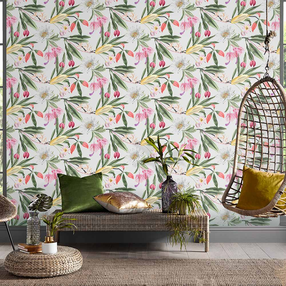 Graham & Brown Paradise Chalk Wallpaper - Product code: 107600