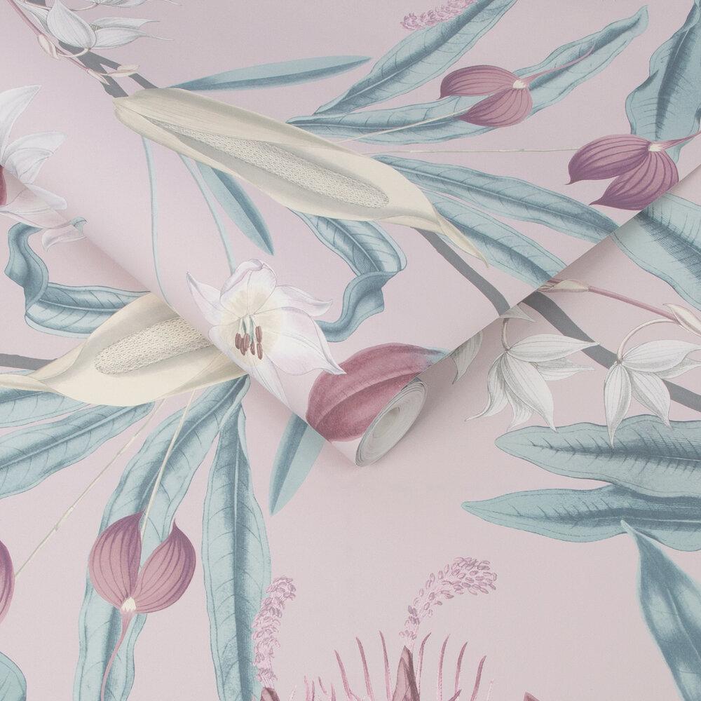 Paradise Wallpaper - Blush - by Graham & Brown
