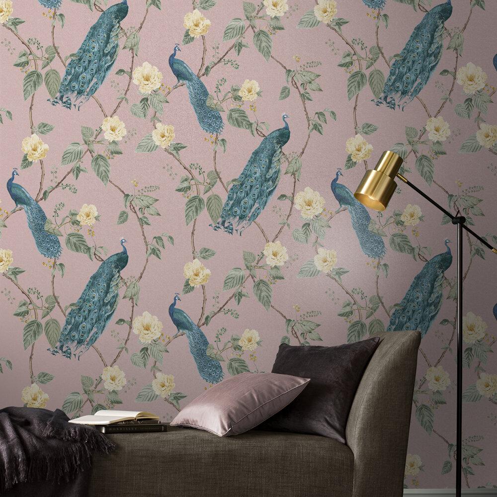 Graham & Brown Resplendance Blush Wallpaper - Product code: 107873