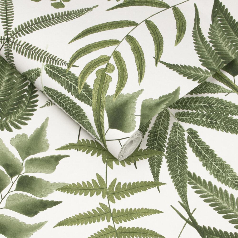 Graham & Brown Midsummer Fern Lush Wallpaper - Product code: 107880