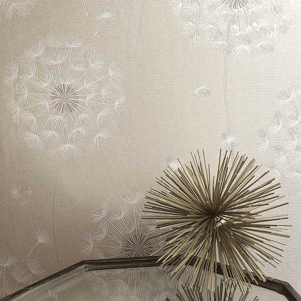 Allora Wallpaper - Cream - by Albany