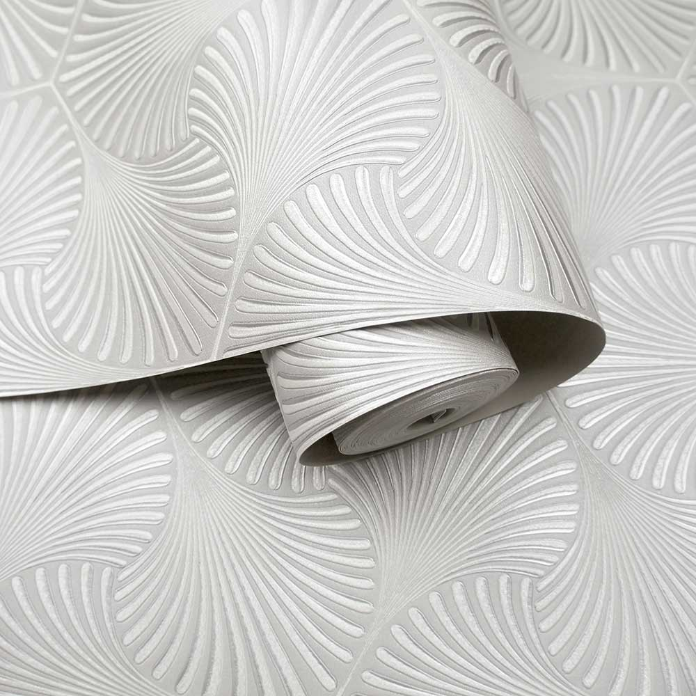 Varano Wallpaper - Dove Silver - by Albany