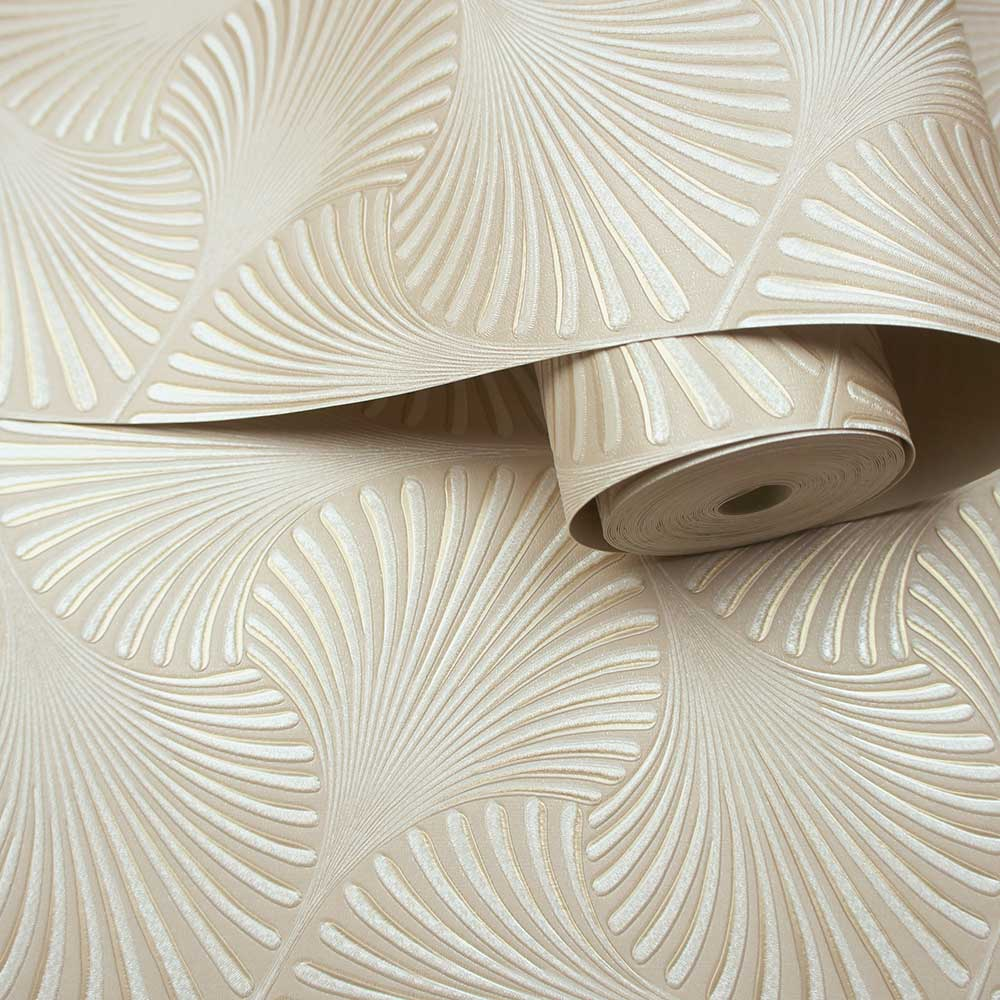 Varano Wallpaper - Cream - by Albany