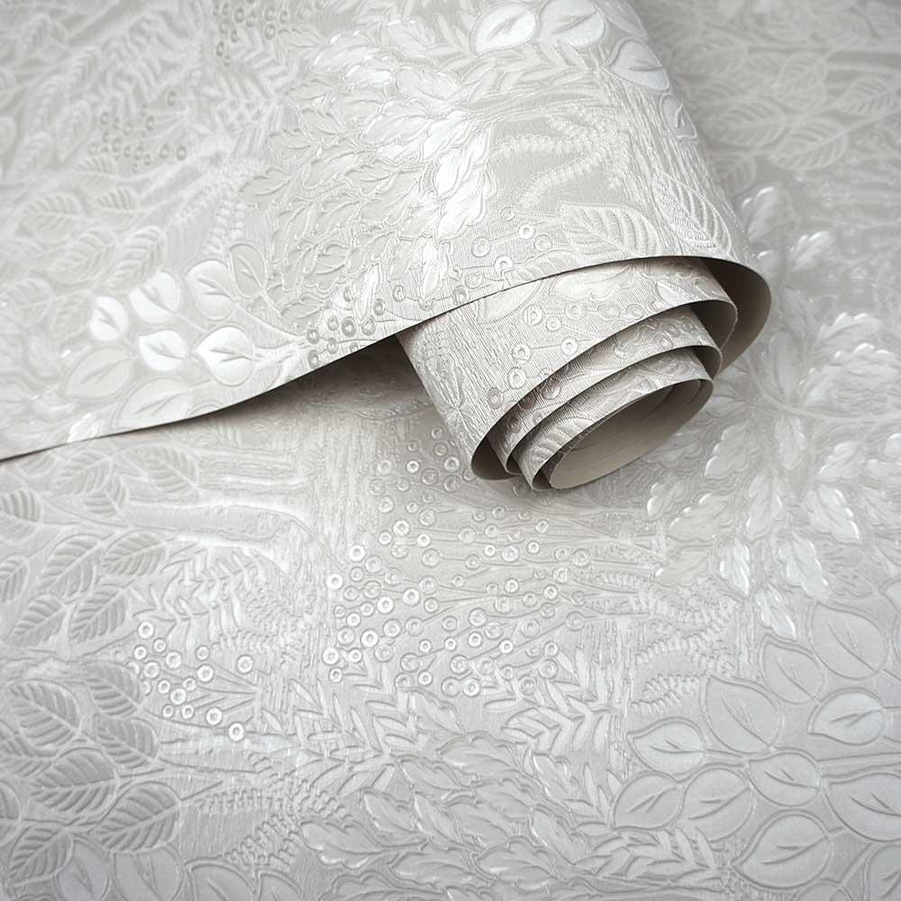 Majella Wallpaper - Grey - by Albany