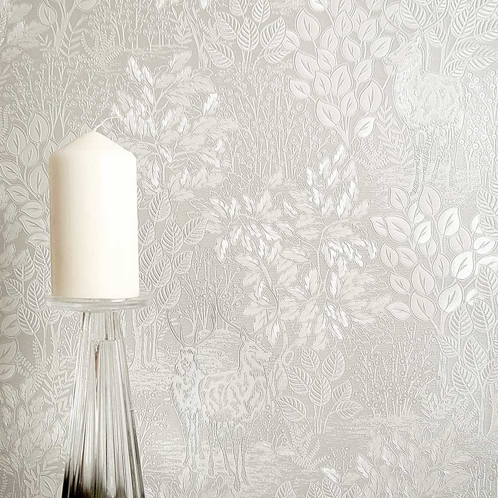 Majella Wallpaper - Taupe - by Albany