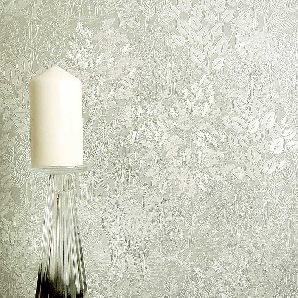 Albany Majella Green Wallpaper - Product code: 36052