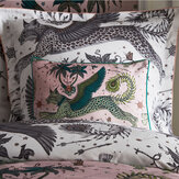 Emma J Shipley Lynx Boudoir Pillowcase  Blush - Product code: M2163/01