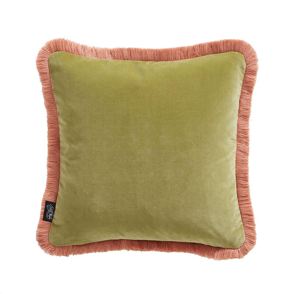Emma J Shipley Lynx Square Cushion Teal - Product code: M2176/01