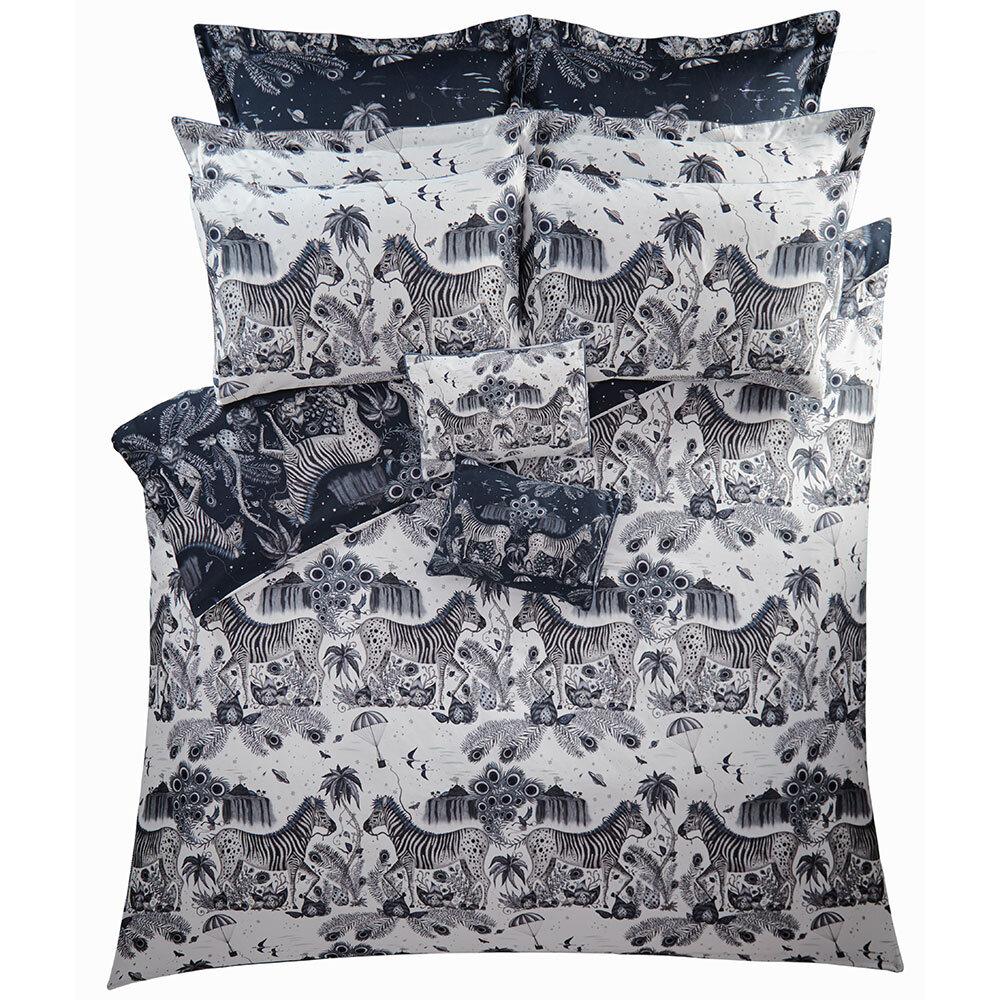 Lost World Boudoir Pillowcase  - White - by Emma J Shipley