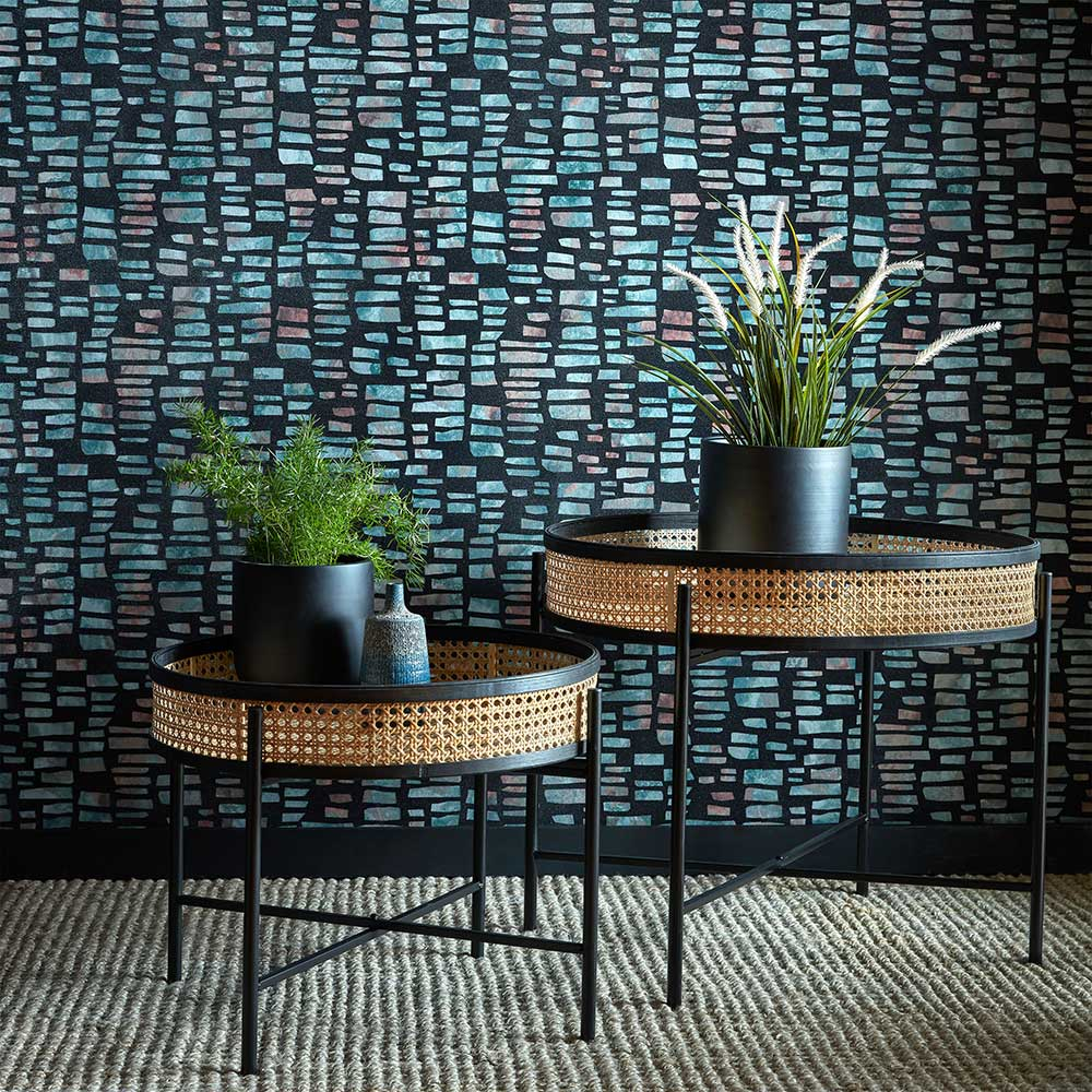 Fusion Wallpaper - Mineral - by 1838 Wallcoverings