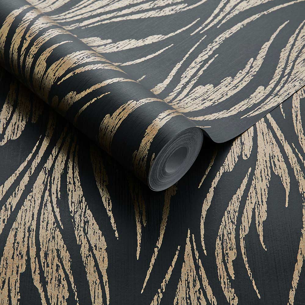 Ripple Wallpaper - Bracken - by 1838 Wallcoverings