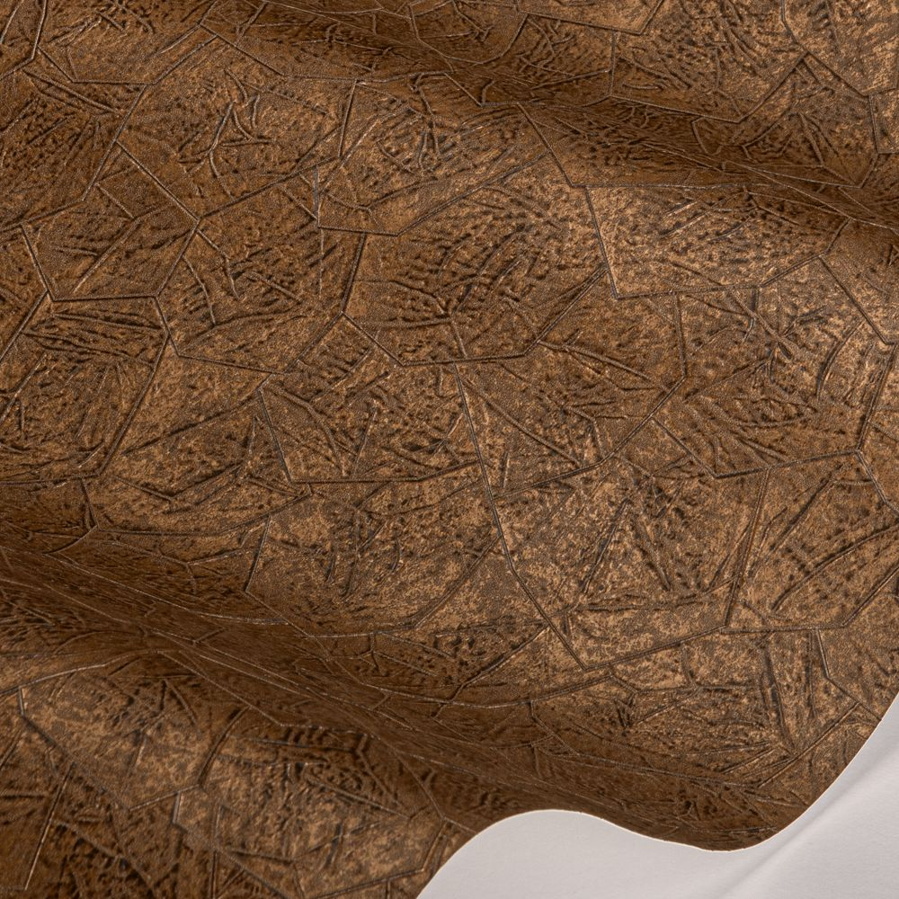 Kimberlite Wallpaper - Copper Oxide - by Anthology