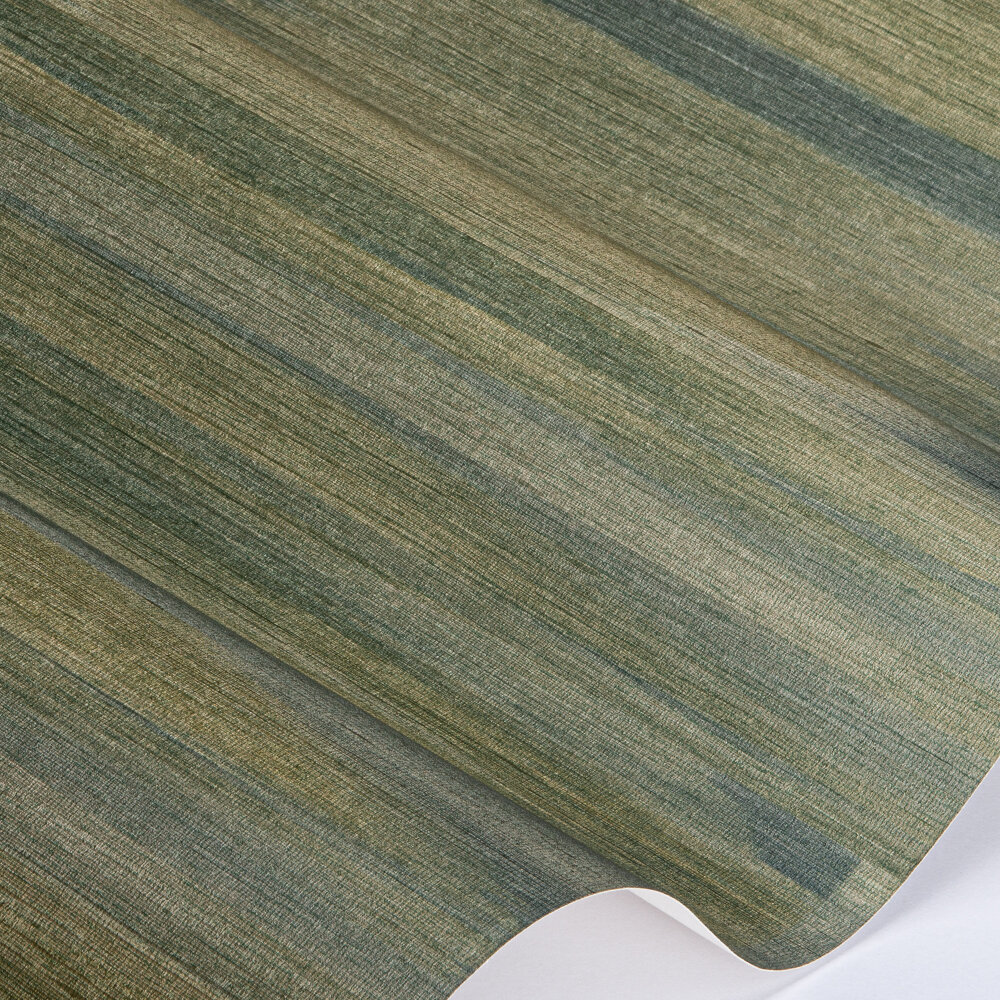 Refraction Wallpaper - Emerald Citrus - by Anthology