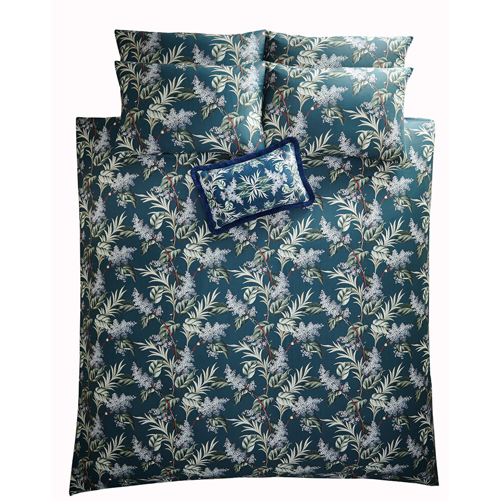 Oasis Aloha Duvet Set Midnight Duvet Cover - Product code: M0047/01/DB