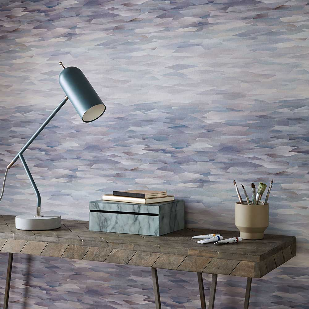 1838 Wallcoverings Prism Heather Wallpaper - Product code: 2008-151-04