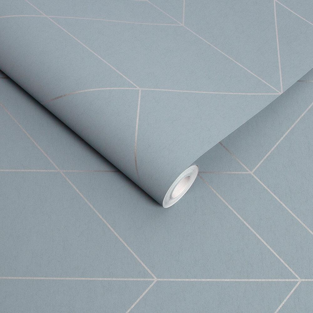 Balance Wallpaper - Deep Sky - by Graham & Brown