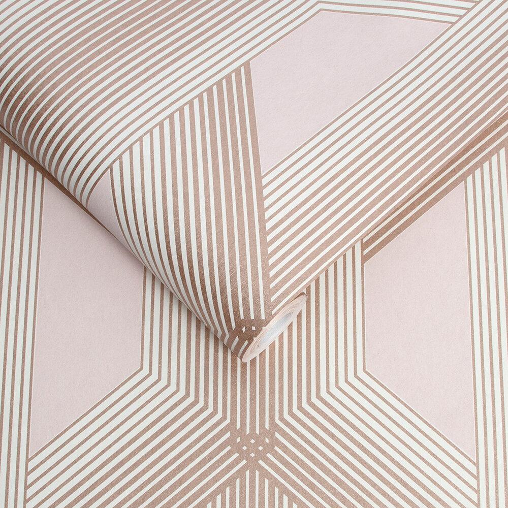 Lagom Wallpaper - Blush - by Graham & Brown