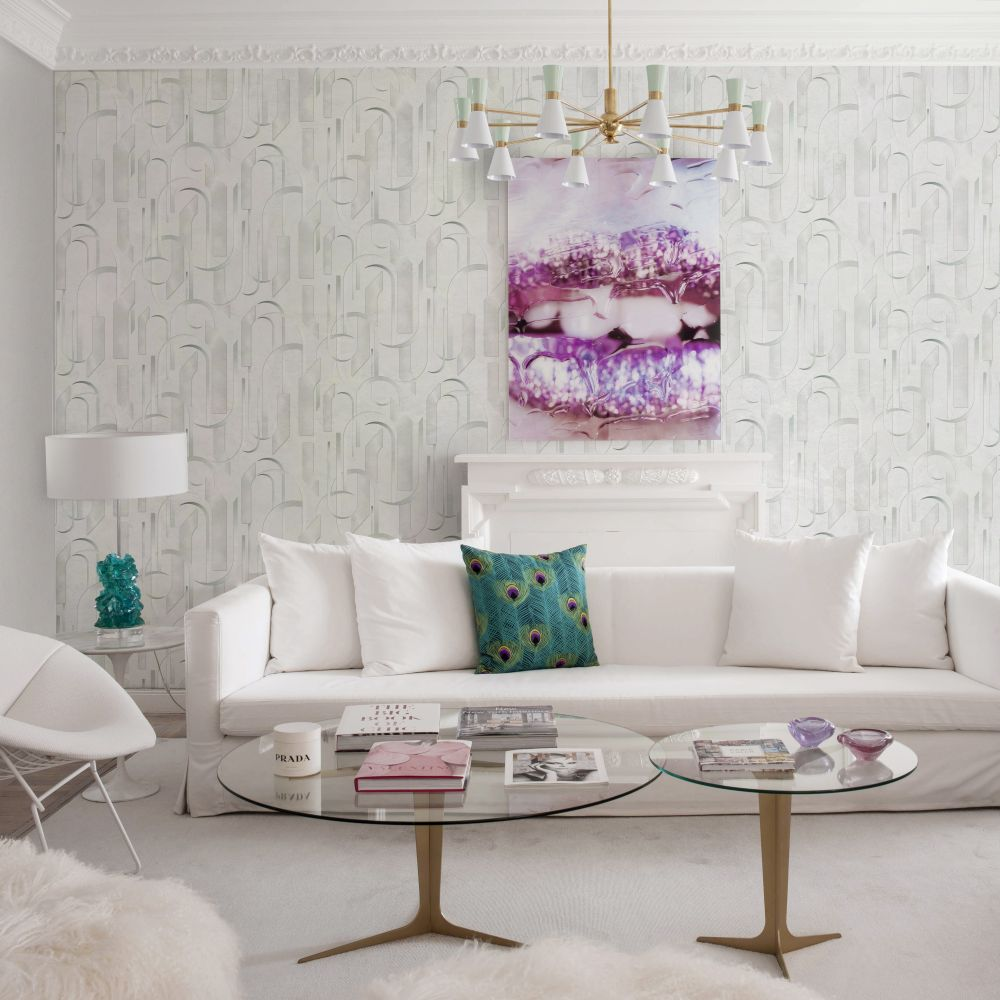 Arch Wallpaper - Ivory - by Tres Tintas
