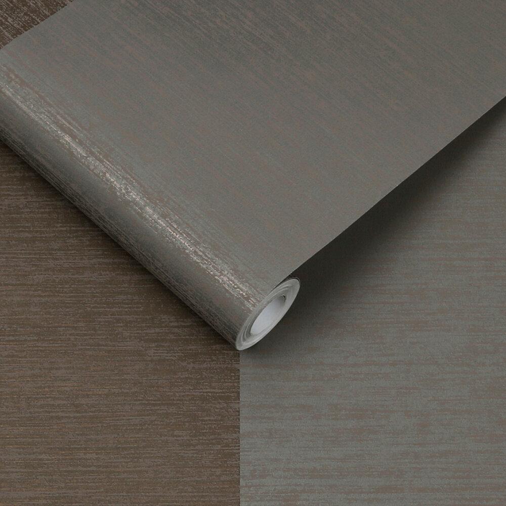 Graham & Brown Atelier Stripe Bronze Wallpaper - Product code: 107867