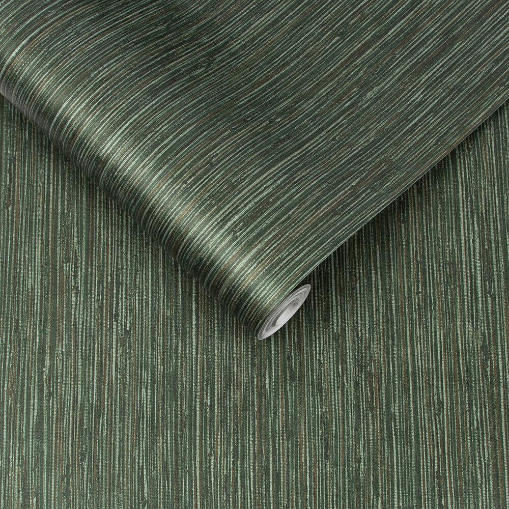 Grasscloth Texture Wallpaper - Pine - by Graham & Brown