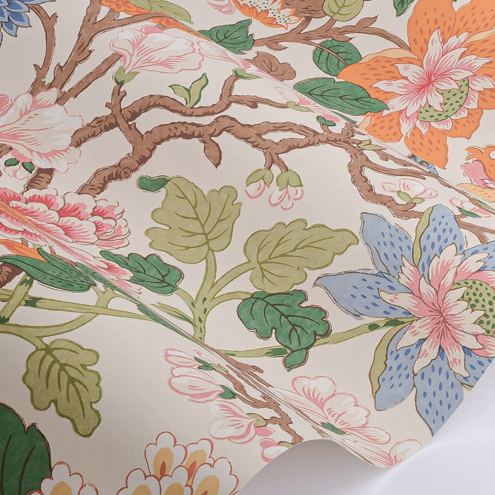 Magnolia Wallpaper - Original - by G P & J Baker
