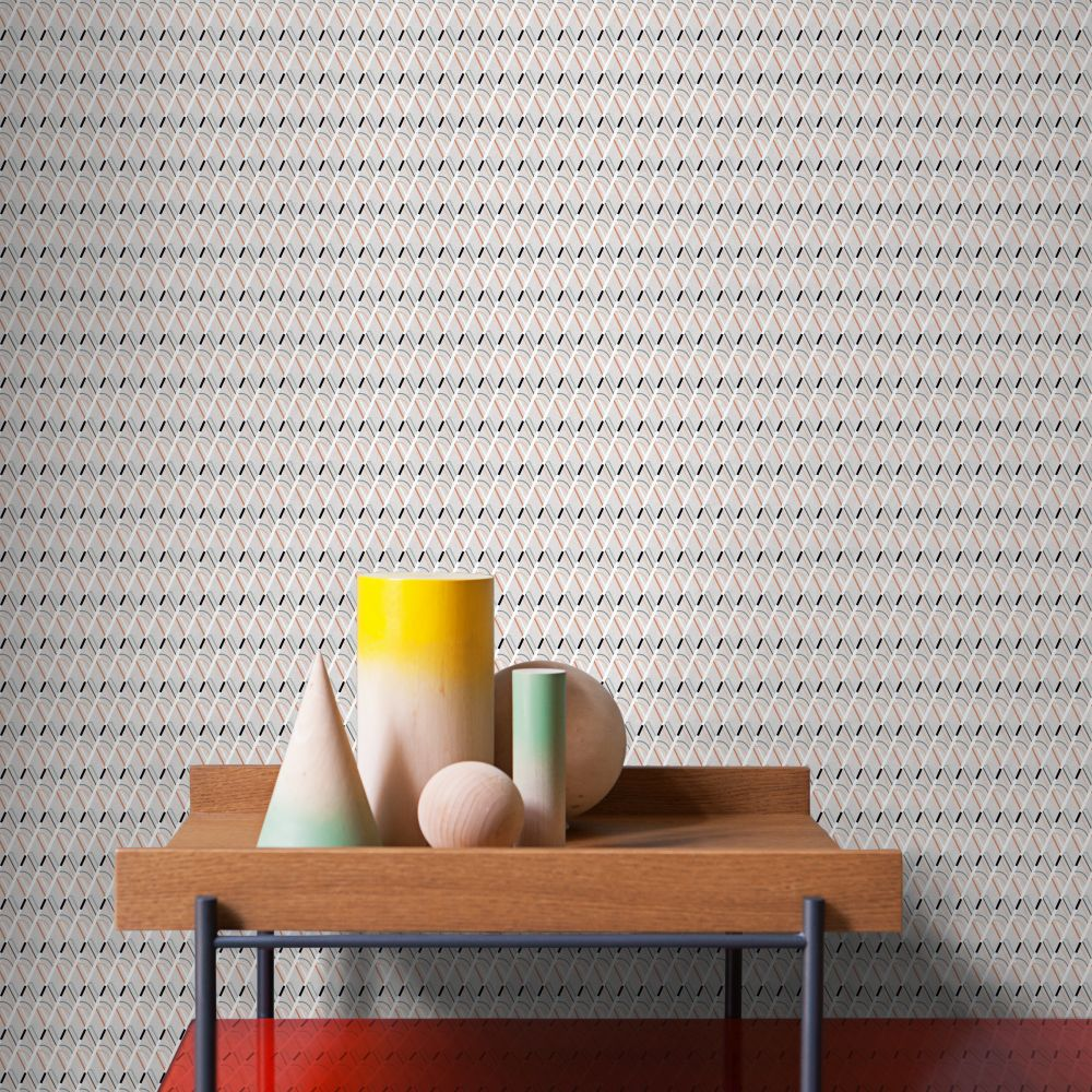 Double Wallpaper - Taupe - by Tres Tintas