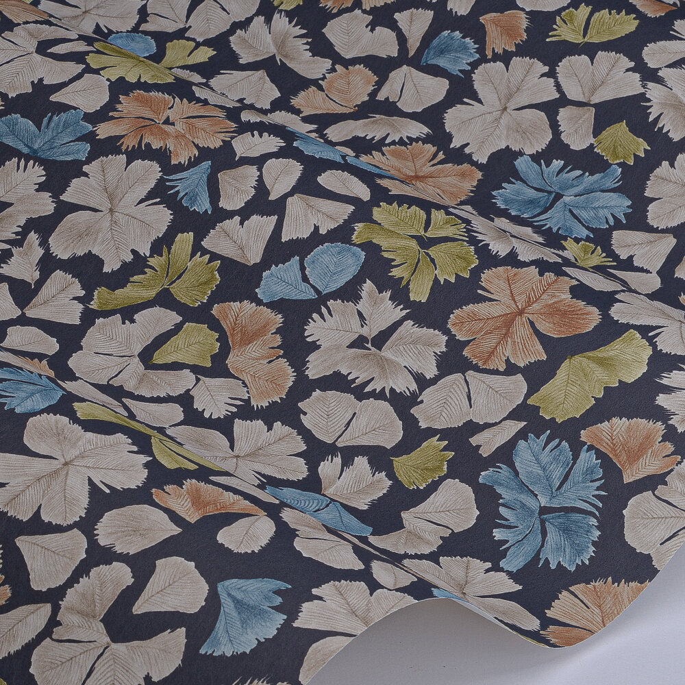 Feather Flora Wallpaper - Soba - by Paint & Paper Library