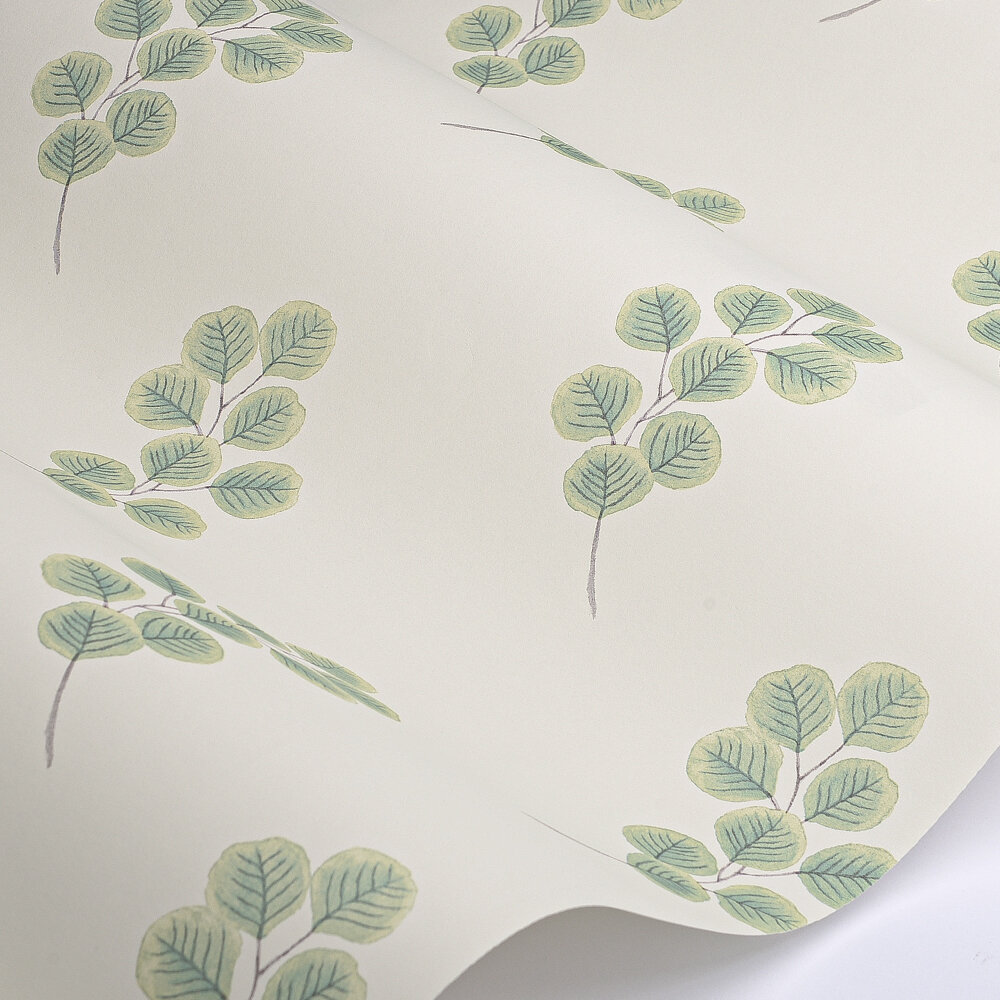 Honesty Wallpaper - Chelsea Green II - by Paint & Paper Library